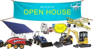 Open House Schedule and Specials
