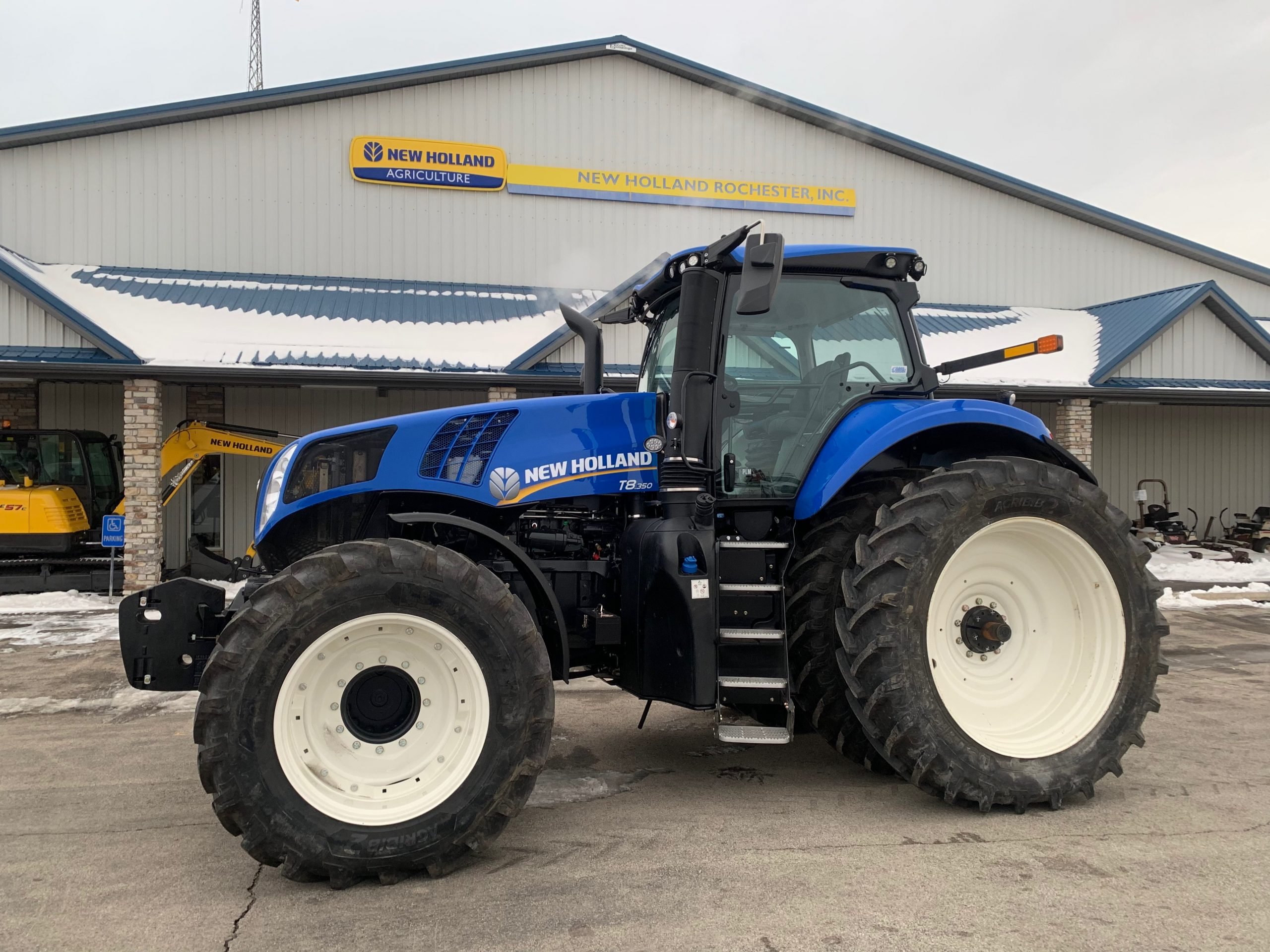 The New Holland Genesis T8 With Plm Intelligence New Holland