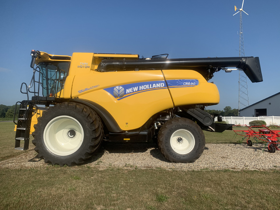 New 2019 New Holland Cr8 90 Combine For Sale Rochester Indiana