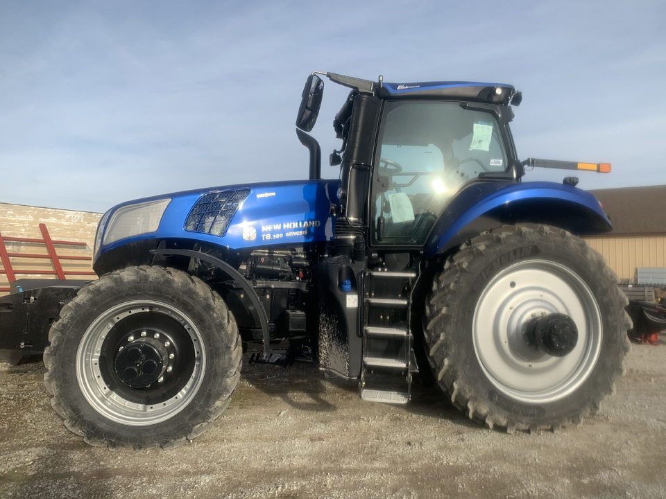 New 2020 New Holland T8 380 Tractor For Sale Rochester Indiana